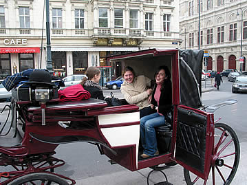 Wiener Fiaker - old time transportation in Vienna