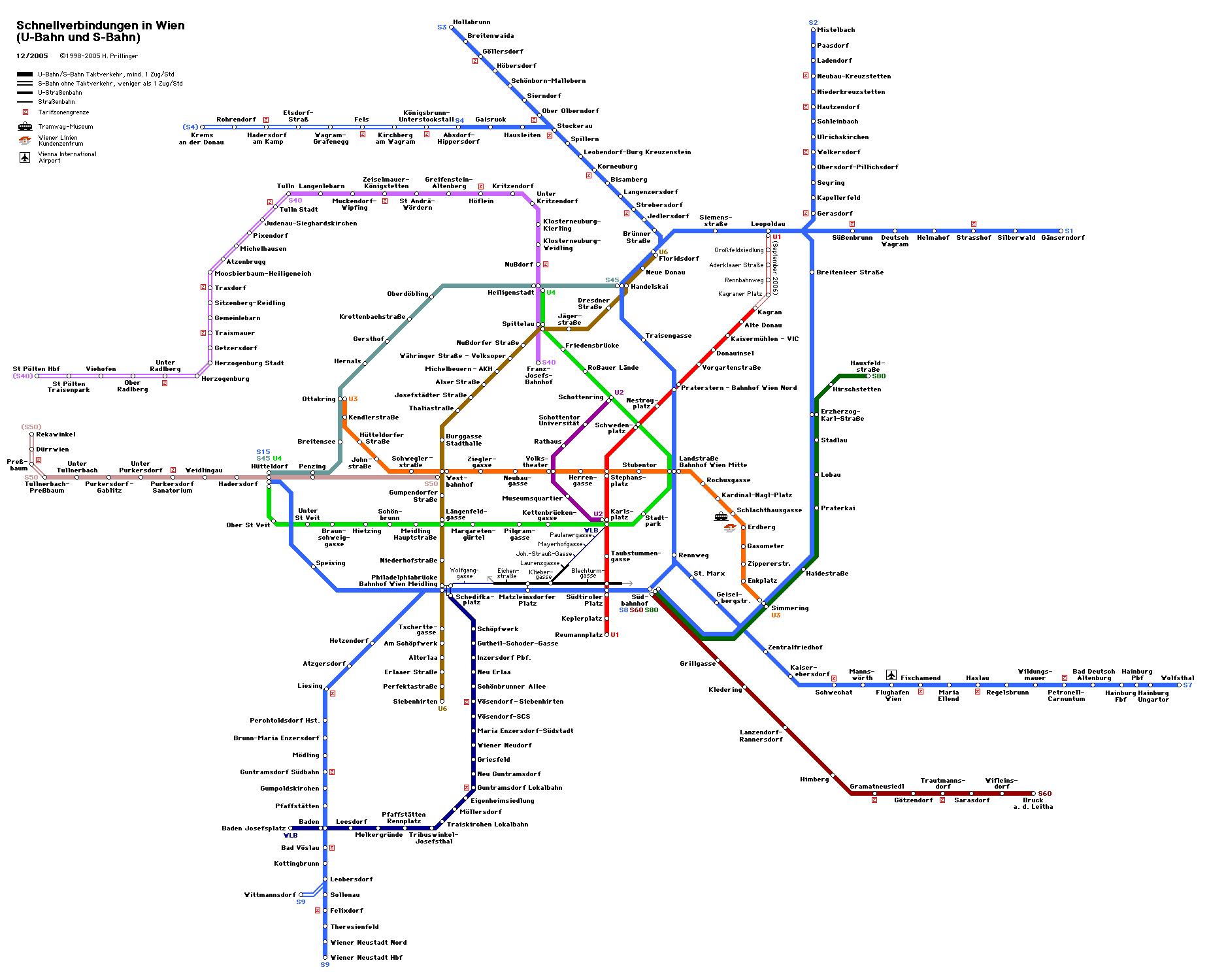 Vienna Subway Map Pdf