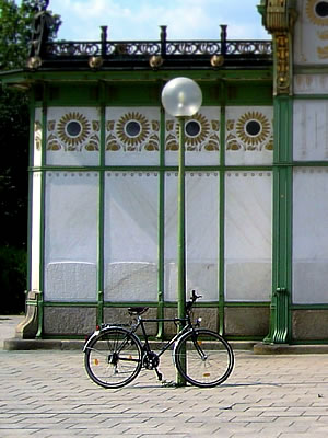 Bicycle in Vienna
