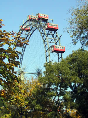 Tour in Vienna Prater