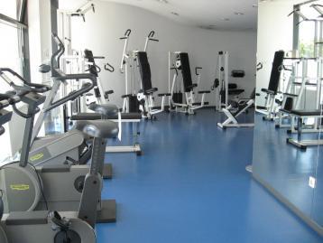 Fitness Studio and Sauna