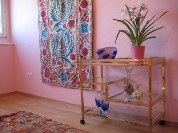 Teppiche und authentische Kunst